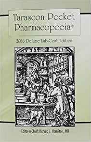 tarascon pocket pharmacopoeia 2018 deluxe lab coat edition books tarascon pocket pharmacopoeia 2016 deluxe lab coat edition