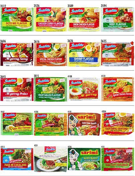 Indomie Mie Kocok Bandung ini dia produk mie instant yang ada di indonesia lengkap