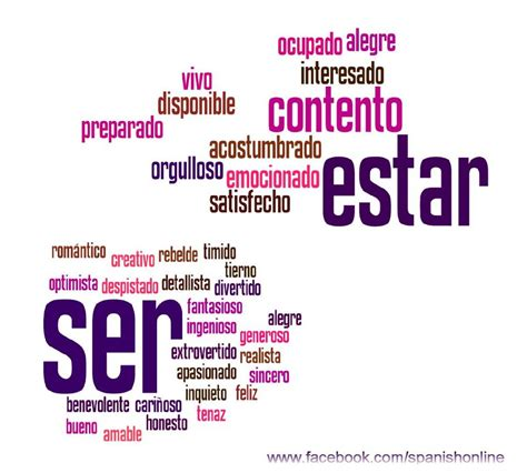 imagenes estar alegre tess spanish ser vs estar publish with glogster