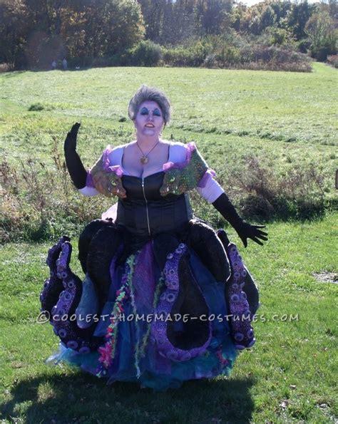 Handmade Witch Costume - handmade ursula the sea witch costume
