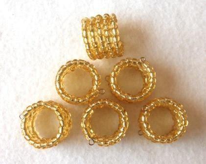 beaded serviette rings sale gold beaded serviette napkin rings