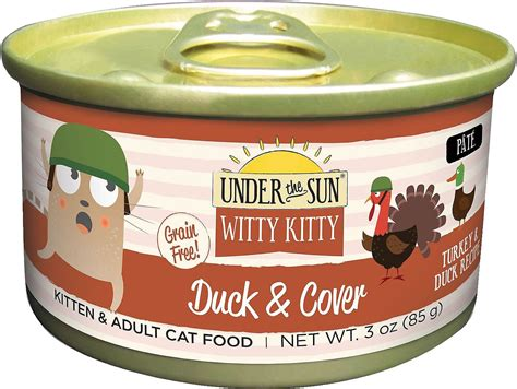 witty cat food the sun witty duck cover grain free with
