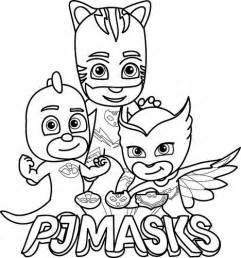 dibujos pj masks im 225 genes 233 roes en pijamas imprimir colorear blogitecno