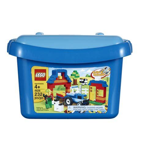 Blocks Playset Blue Lego Brick Box Set Blue 4626 Toys Blocks