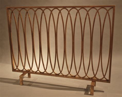 Fireplace Website Loop by Antique Gold Oval Loop Iron Fireplace Screen Screen