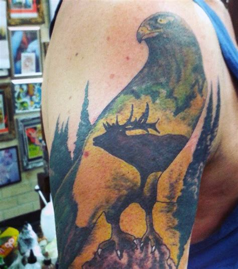 cool hunting tattoos 70 tattoos for skills of war in times of peace