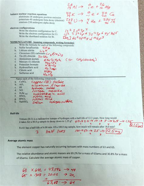 worksheet chemical formulas  equations worksheet grass fedjp worksheet study site