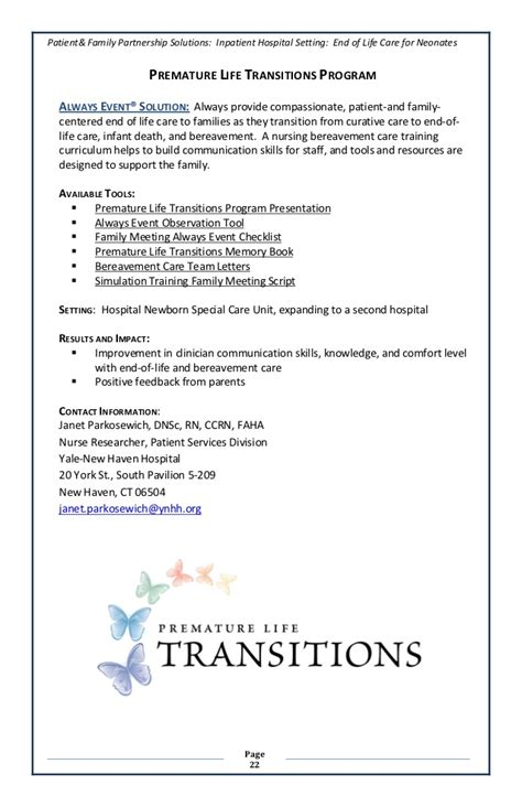 Patient Transition Letter Always Events Healthcare Solutions Book