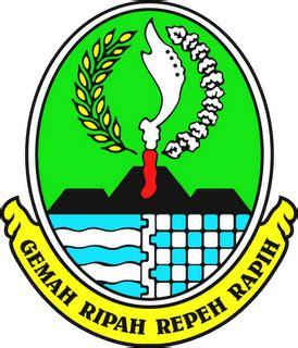 Logo Jawa Barat Bordir perda prov jabar no 9 2009 ttg organisasi tata kerja bpbd prov jabar participatory