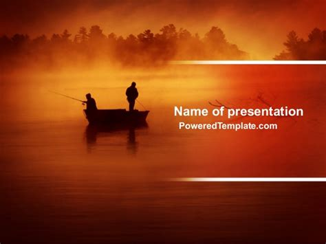 Recreational Fishing Powerpoint Template By Fish Ppt Templates Free