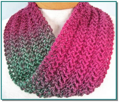 infinity scarf knitting pattern beginners infinity scarf knitting pattern knit lace easy for