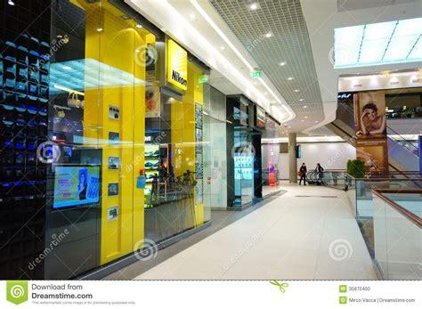 nikon shopping nikon shop editorial image image 35870400