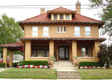 type of house american foursquare house file american foursquare home marysville jpg wikimedia