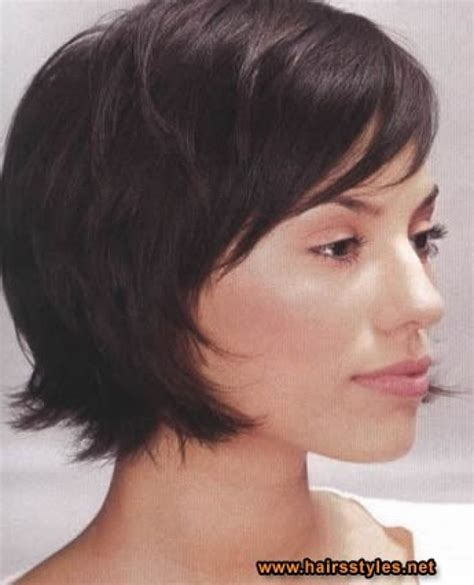 medium hairstyles that can be worn behind the ear bangs short hairstyles tucked behind ears