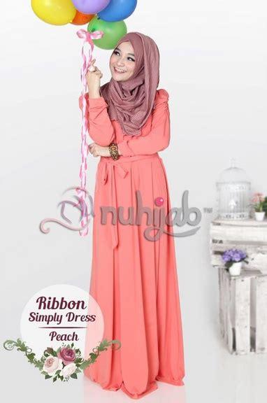 Gamis Trend 2016 Contoh Foto Baju Muslim Modern Terbaru 2016 Foto Baju