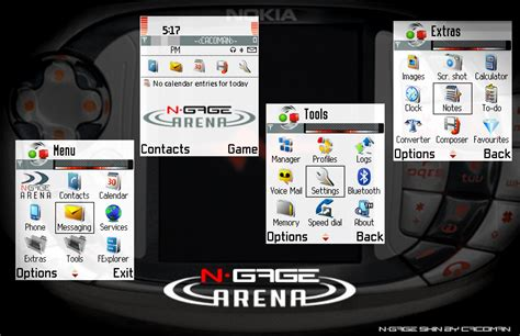 java themes sumsung n gage qd skin by cacoman on deviantart