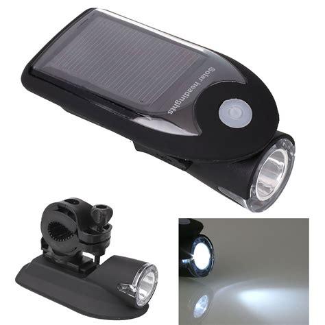 solar bike lights solar usb rechargeable bicycle bike led warning