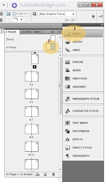 membuat layout majalah dengan indesign cs3 cara membuat layout majalah sederhana dengan indesign