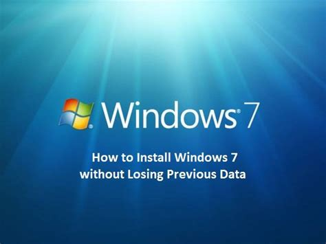 how to lose the wrong without losing you books how to install windows 7 without losing previous data