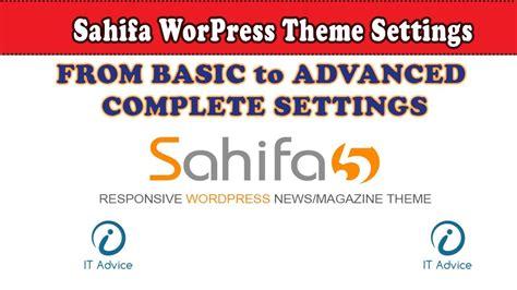 sahifa theme tutorial wordpress tutorial full course in urdu lecture 14