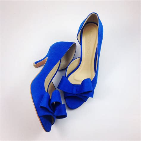 something blue wedding shoes electric blue wedding shoes