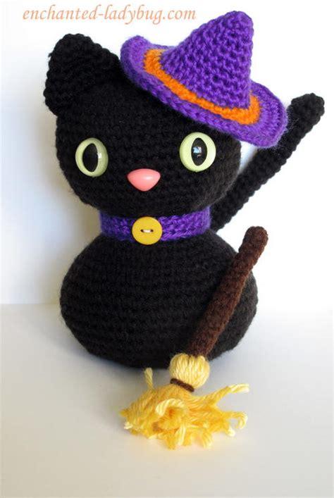 amigurumi witch pattern amigurumi halloween black cat allfreecrochet com