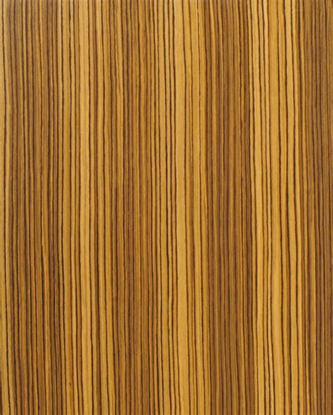Kitchen Cabinet Refacing Veneer Straight Grain Zebrawood Reconstituted Architectural Grade