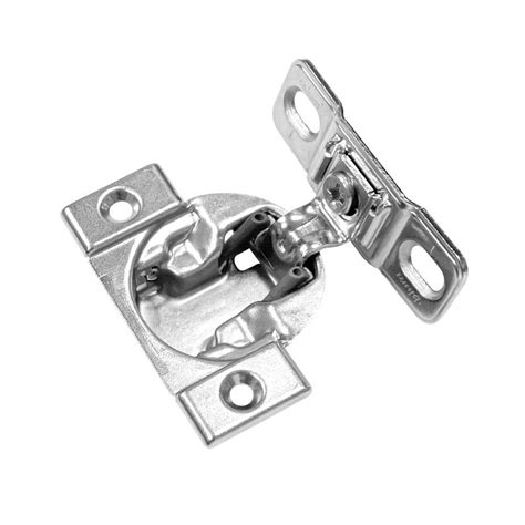 1 4 overlay cabinet hinges 1 4 inch overlay hinge home depot