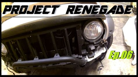 2006 jeep liberty grill jeep liberty bull bar front bumper grille install