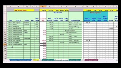Accounting Spreadsheets Free by Bookkeeping Spreadsheet Template Free Haisume
