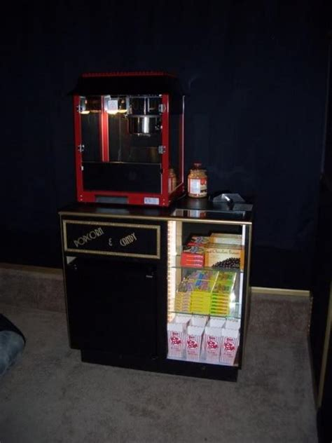 diy home theater concession stand 187 design and ideas