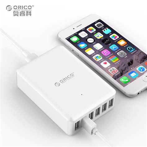 Orico Usb Wall Travel Charger Hub 6 Port Smartphone Gad Limited orico usb wall travel charger hub 6 port dcap 6s white jakartanotebook