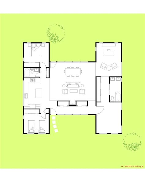 h and h homes floor plans h shaped house plans with pool