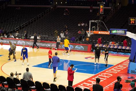 staples center section  clipperslakers