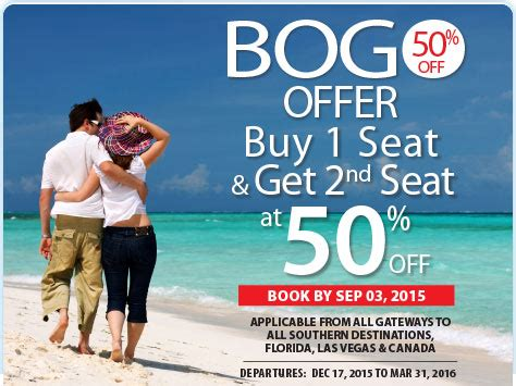 sunwing free seat selection sunwing announces limited time winter bogo seat sale