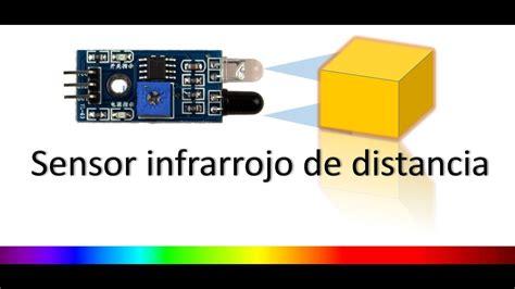 detector de obstaculos  infrarrojo  arduino youtube