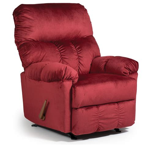 best recliner rocker ares rocker recliner by best home furnishings wolf and