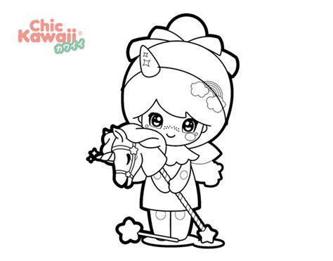 imagenes de perros kawaii para colorear desenho de menina disfar 231 ada kawaii para colorir colorir com