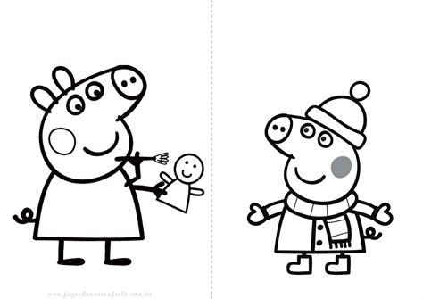 imagenes para pintar de peppa pig dibujos de peppa pig para colorear