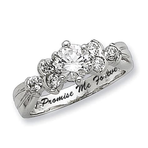 promise ring picture promise rings on white gold promise
