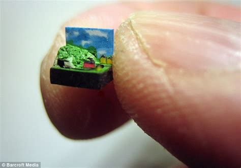 world s smallest pictured the world s smallest working model that s tinier than a fingernail