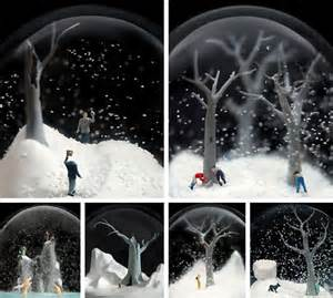 beautiful snow globes by walter martin and paloma munoz
