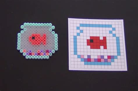 where can you get perler how to make a perler bead fish bowl