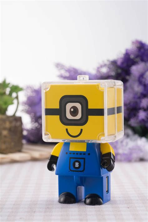 Power Bank Character Minions Bello 1 minion 6800mah power bank by mr box planet available to buy from zakkasoul http www