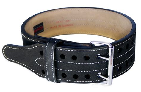 weight belt for bench press 4 inch double prong competition powerlifting belt