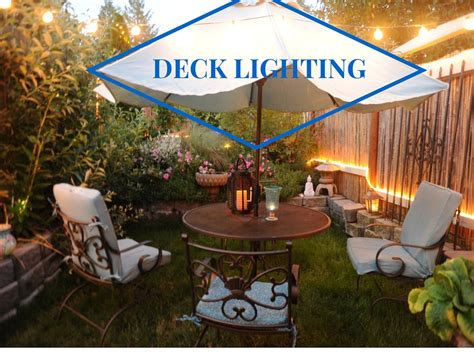 patio deck lighting ideas patio and deck lighting ideas 1000bulbs