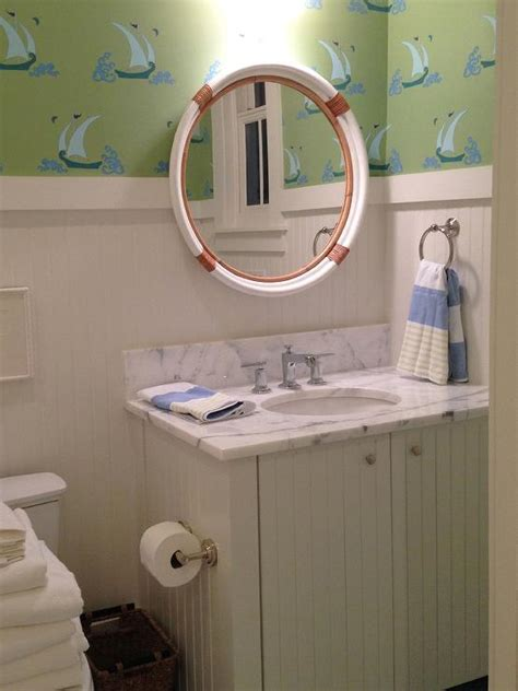 Nautical Mirrors Bathroom Bahtroom Impressive Nautical Bathroom Mirrors For Capitan Wannabe Room Themes Nautical Theme