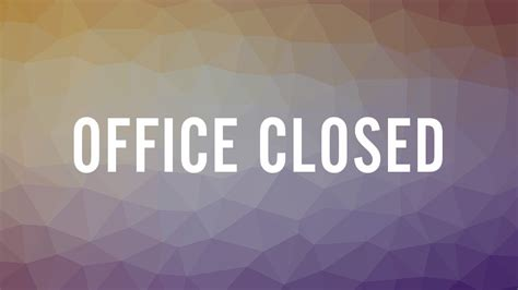 Fridays Corporate Office by Faith Family Baptist Church 183 Events 183 Offices Closed