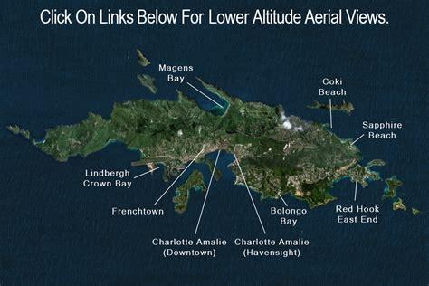 map st vi st usvi aerial view