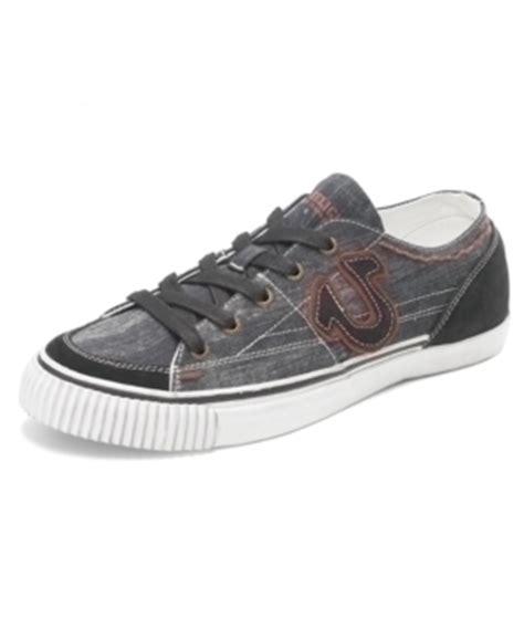true religion hanabel low denim canvas sneaker shoes